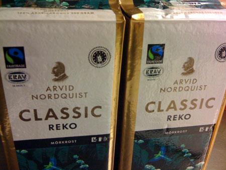 classic reko mörkrost kaffe krav